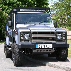 Land Rover Defender 110 VB Air Suspension