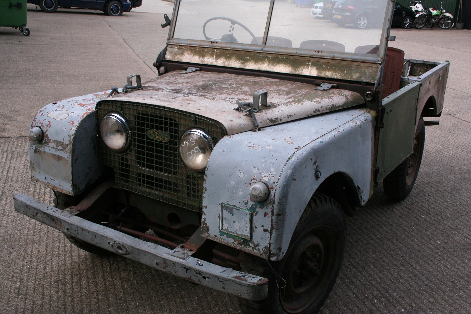 1950 Series One before restoration