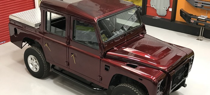 Land Rover Defender 110 XS 2.2TDCi Double Cab for sale, Silverstone