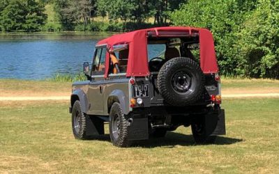 The best soft top Land Rover Defender 90 ever?