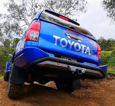ARB 3614100 Rear Step Tow Bar Bumper Toyota Hilux (2005-2015)