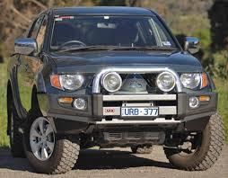 ARB 3946020 Sahara Bar Winch Bumper Mitsubishi L200