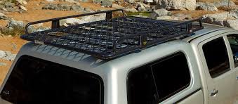 ARB Classic Canopy Alloy Roof Rack with Mesh