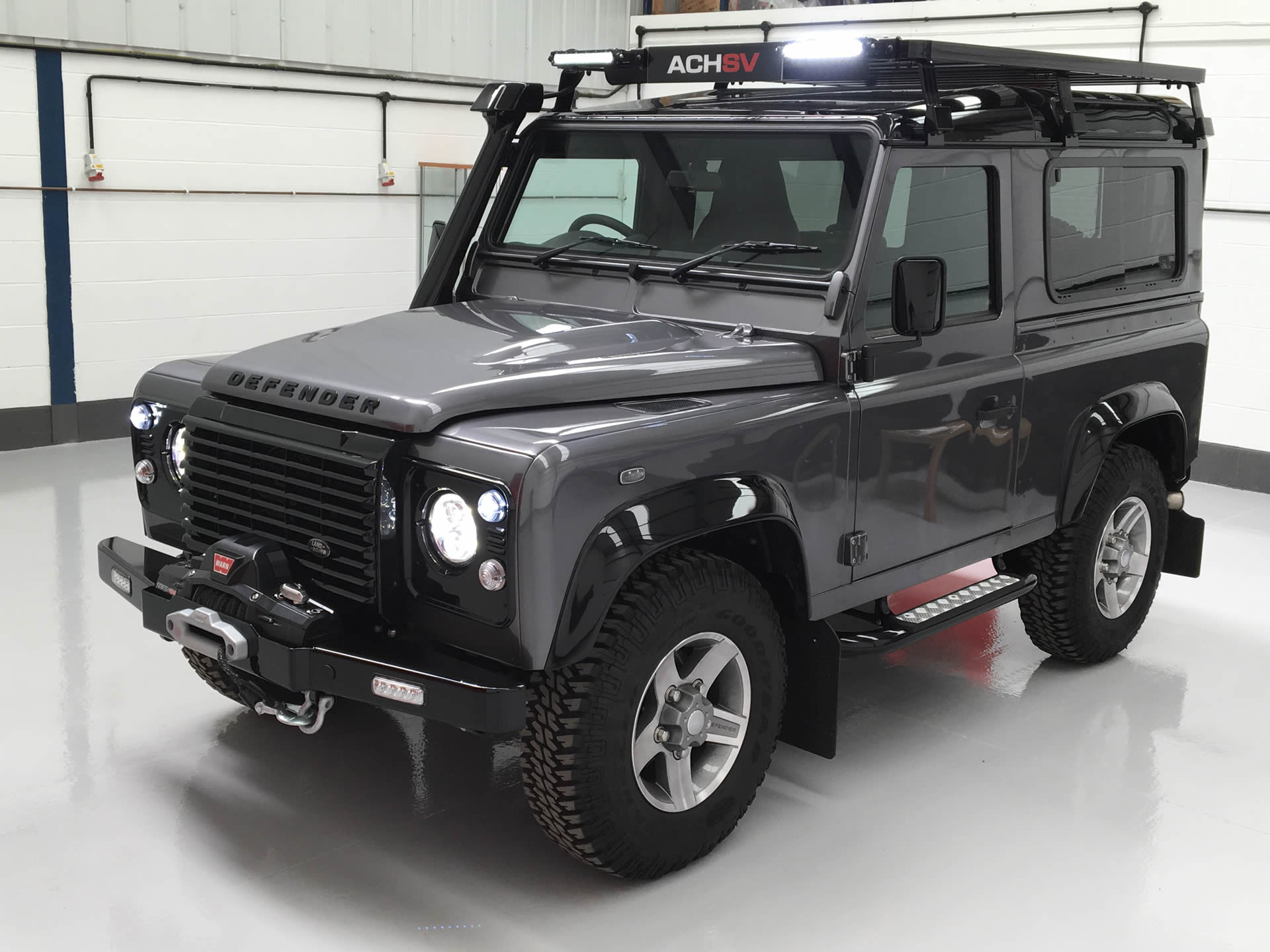 The second step of ACHSV custom vehicle builds is designing your build to create your very own Land Rover, just the way you want it.