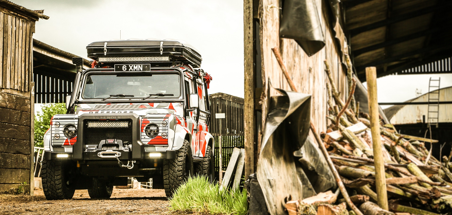 End of the World Land Rover Defender 90