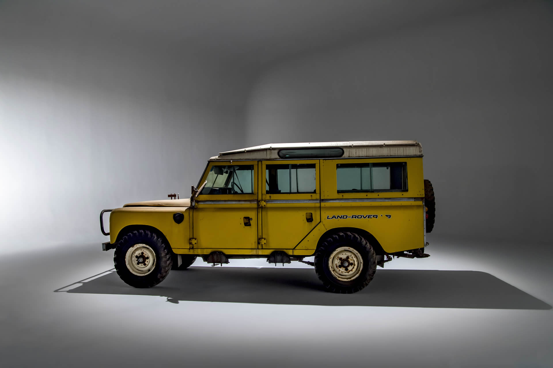 "Inca Yellow Stage 1 V8 109"" Station Wagon - Future Land Rover Restorations - ACH Classic"