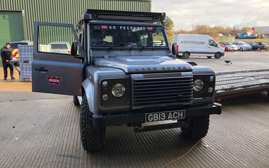 Land Rover Defender 110 Air Suspension Comparison Test
