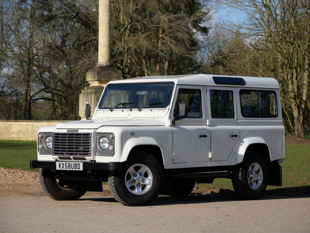 For sale Defender 110 Double cab in candy apple red