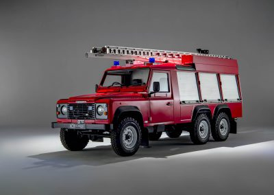 Land Rover Defender 6×6 Fire Engine