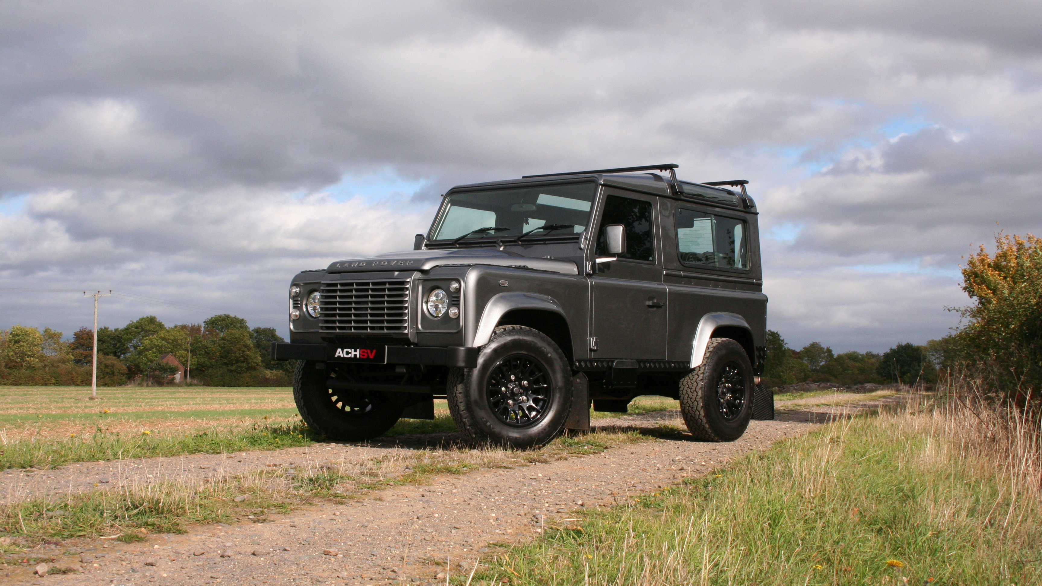 Stornoway Grey Land Rover Defender 90