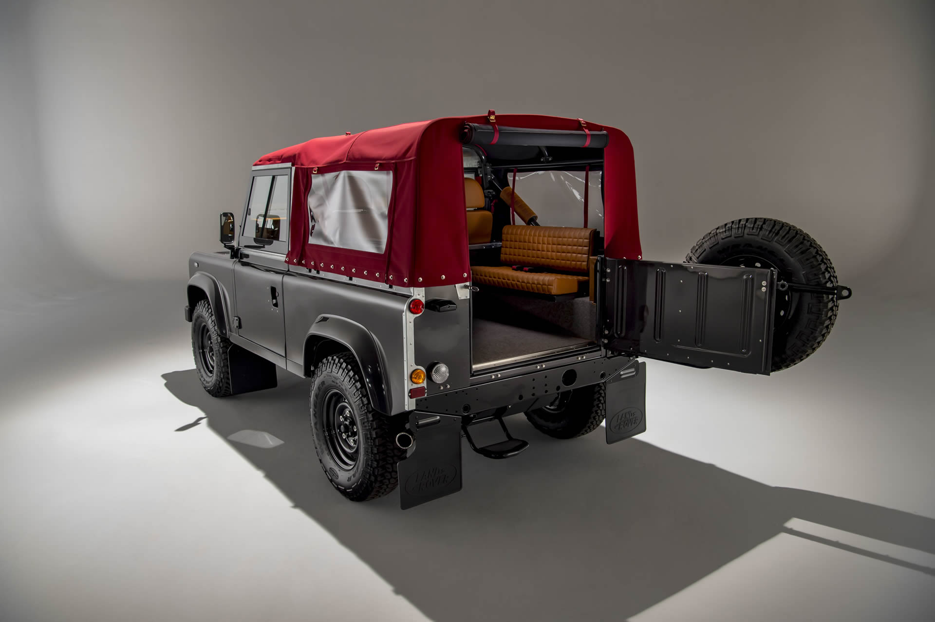 The final step of ACHSV custom vehicle builds is choosing the perfect colour for your new, bespoke Land Rover.