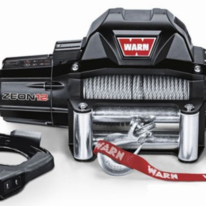 WARN Zeon 12-S 12V Winch With Synthetic Rope 12,000lbs (95955)