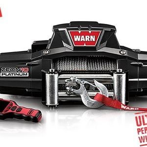 WARN ZEON Platinum 10 Winch With Wire Rope 10,000lbs (92830)